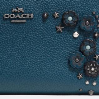 Coach Portemonnaie mit Zip, blau, 59387 - Vorschau 2