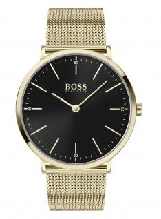 Hugo Boss Herren Uhr Horizon Edelstahl Gold, 1513735