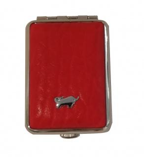 Braun Büffel Pillendose Golf, Rot 39085