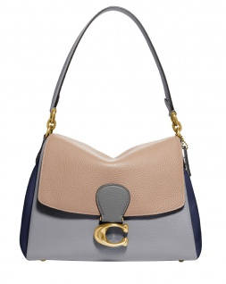 Coach Umhängetasche May, Colorblock, Taupe Granit Multi 4613