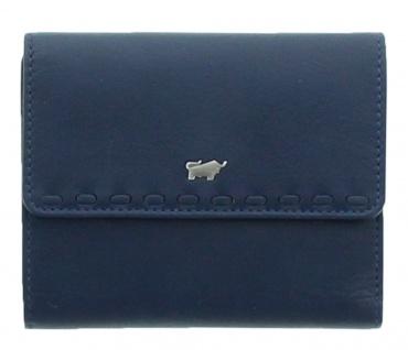 Braun Büffel Geldbörse Soave Navy / Blau, 28344