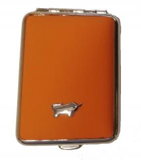 Braun Büffel Pillendose Golf, Orange 39085