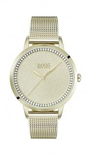 Hugo Boss Damen Uhr Twilight Edelstahl Gold, 1502465