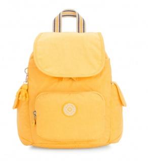 Kipling Rucksack City Pack S, Vivid Yellow