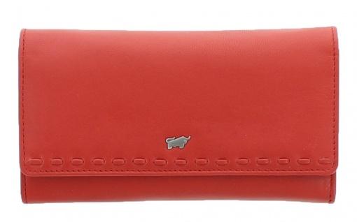Braun Büffel Geldbörse Soave Rot, 28352