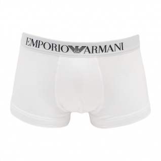 Emporio Armani Stretch CottonTrunk, Weiß 110389