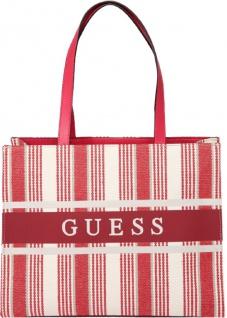 Guess Handtasche Monique Red Stripe