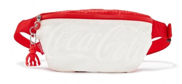 Kipling Gürteltasche / Bauchtasche Fresh Coca Cola, Wild Red