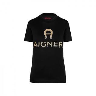 Aigner T- shirt schwarz, 252009