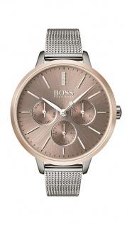 Hugo Boss Damen Uhr Symphony Edelstahl silber, 1502423