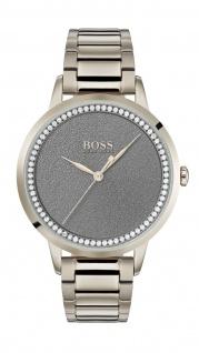 Hugo Boss Damen Uhr Twilight Edelstahl Roségold, 1502463
