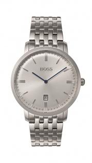 Hugo Boss Herren Uhr Tradition Edelstahl, 1513537