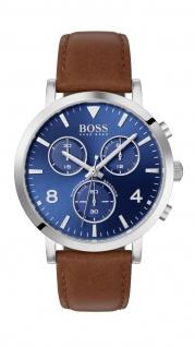 Hugo Boss Herren Uhr Spirit - Casual Leder Braun, 1513689