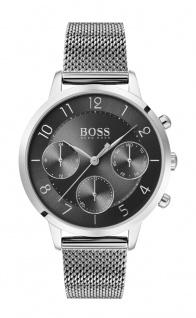 Hugo Boss Damen Uhr Vivid Edelstahl Silber, 1502507