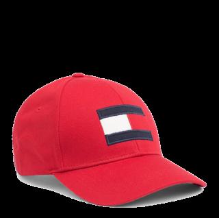 Tommy Hilfiger Big Flag Baseball Cap, Rot