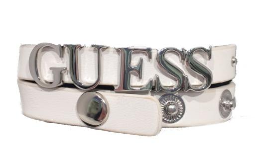 Guess Armband mit Logo White