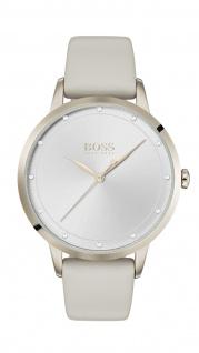 Hugo Boss Damen Uhr Twilight Leder Weiss, 1502461