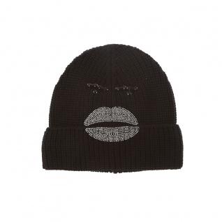 Armani Jeans Mütze Gesicht, nero