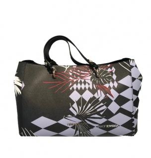 Versace Jeans Handtasche gemustert schwarz, E1VRBBK5