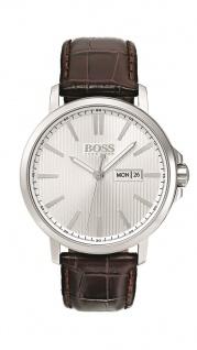 Hugo Boss Herren Uhr The James Leder braun, 1513532