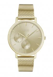 Hugo Boss Damen Uhr Infinity Edelstahl Gold, 1502520