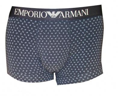 Emporio Armani Basic Stretch Cotton Trunk, marine Größe S