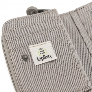 Kipling Mini Geldbörse / Etui Tops, Grey Beige Pep - Vorschau 3