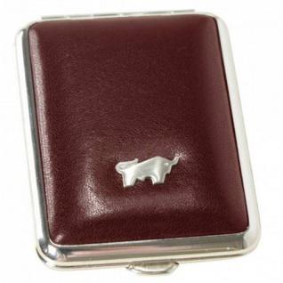Braun Büffel Pillendose Gaucho bordeaux, 39085