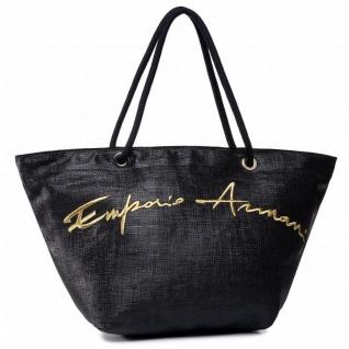 Emporio Armani Shopper / Strandtasche, Schwarz 262587