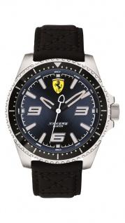 Scuderia Ferrari XX Kers Uhr schwarz, 0830486