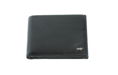 Braun Büffel Geldbörse Q Livorno schwarz, 67133