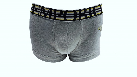 Emporio Armani Stretch Cotton Trunk, grau, 111866