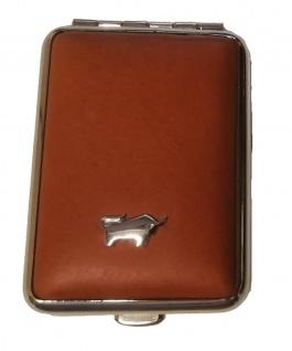Braun Büffel Pillendose Golf, Hellbraun 39085