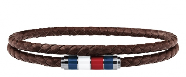 Tommy Hilfiger Armband Leder Braun, 2790055