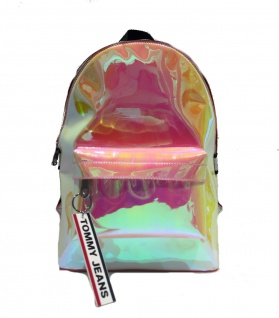 Tommy Hilfiger Rucksack Logo Tape Mini, Multicolor / Rainbow