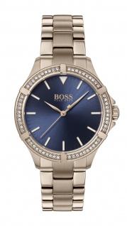 Hugo Boss Damen Uhr Mini Sport - Athleisure Edelstahl Roségold, 1502468