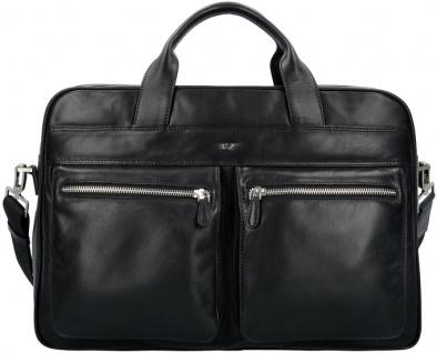Braun Büffel Businesstasche-L Golf schwarz, 92637