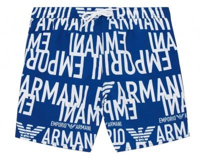 Emporio Armani Herren Badeshorts / Badehose, Blau 211740