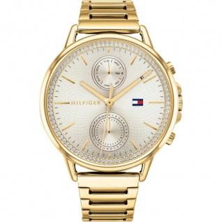 Tommy Hilfiger Damen Uhr Carly Edelstahl gold, 1781916