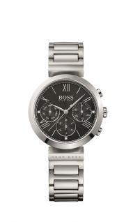 Hugo Boss Damen Uhr Classic Women Sport Edelstahl silber, 1502398