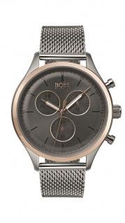 Hugo Boss Herren Uhr Companion Edelstahl, 1513549