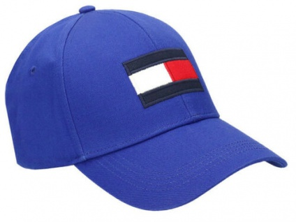 Tommy Hilfiger Big Flag Baseball Cap, Blau