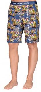 Emporio Armani Herren Bermuda Shorts, Blau 111004 - Vorschau 2