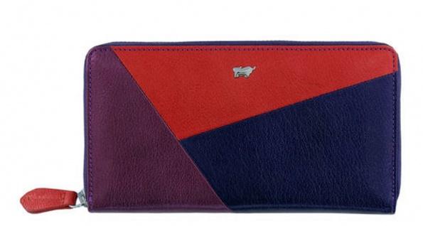 Braun Büffel Geldbörse Anni L Multicolor, 58455