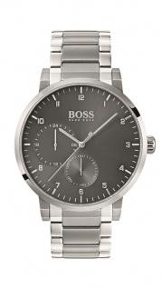 Hugo Boss Herren Uhr Oxygen Edelstahl, 1513596