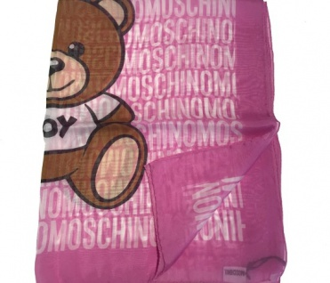Boutique Moschino Tuch All Over Print, Rot
