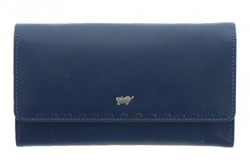 Braun Büffel Geldbörse Soave Navy / Blau, 28352