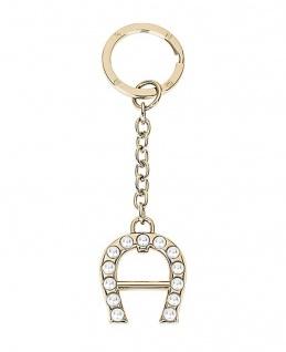 Aigner Schlüsselanhänger Gold, 180028