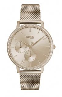 Hugo Boss Damen Uhr Infinity Edelstahl Roségold, 1502519