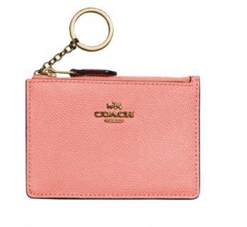 Coach Kartenetui / Schlüsseletui, Candy Pink 57841